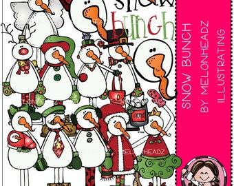 Snowbunch clip art