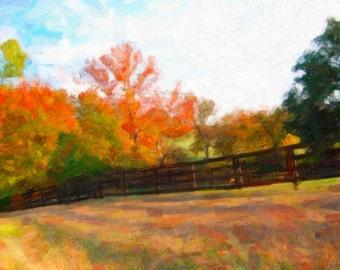 Example/Custom Digital Landscape Painting