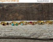 20% OFF Gold Birthstone Rings, Gold Stacking Rings, Choose Your Stone, Stackable Rings, Dainty Rings, Birthstone Rings, Gemstone Rings, Momm