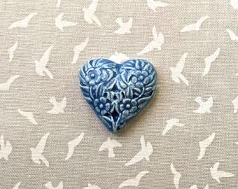 Blue Heart Tile