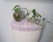 Crochet Toilet Tank Lid Cover  - Sugar Plum (TTL12H)