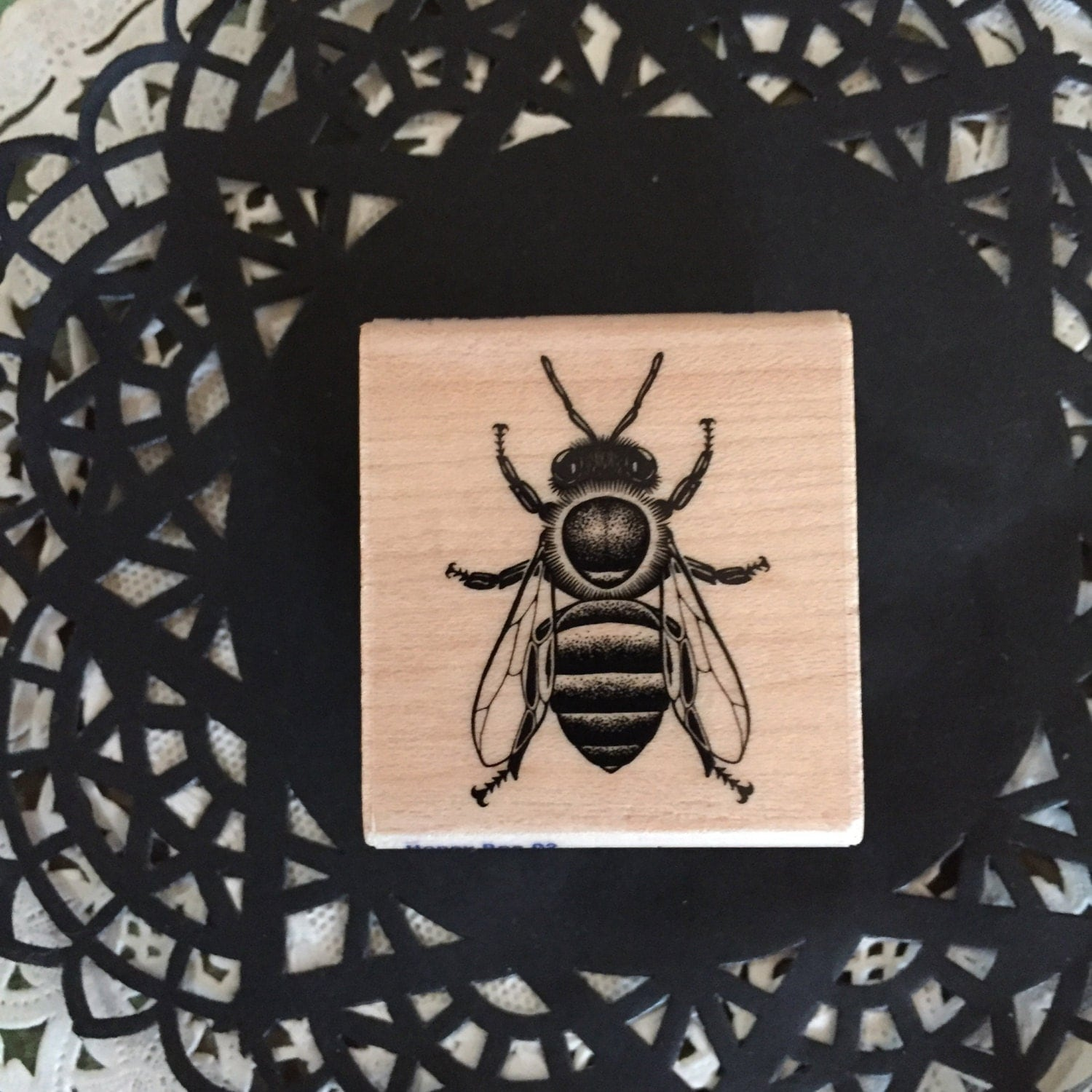 Bumble Bee Rubber stamp by Stampbilities / New Honey Bee Stamp - photo#4