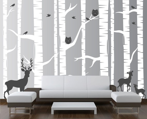 White Tree Wall Decal by innovativestencils