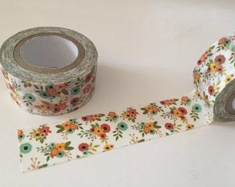 Ephemeral Floral Chintz Washi Tape