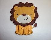 Lion Iron On Patch, Lion Cub, Lion Patch