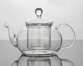 Glass Teapot Self Infuse Loose Leaf TEA Gift Large Friends FUN Detox Tea