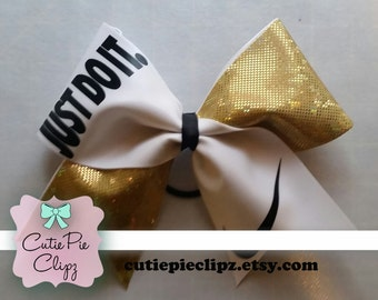 Nike Just Do It Cheer Bow