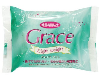 SALE grace light weight type clay 120 gram (air dry clay, for making fake sweet and flower)
