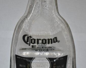 Corona Melting Flat Bottle . Corona Extra Beer Flat Bottle