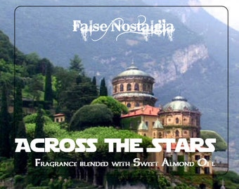 Across The Stars - Naboo inspired perfume fragrance