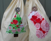 Custom order 2 x Santa sacks for Lola and Pippa