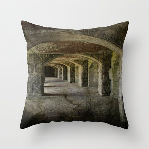 The Tunnels Photo Throw Pillow, Throw Pillow, Pillow, Photography, Pillow Covers, Outdoor Pillow Covers, Housewarming Gift, Living Room Gift