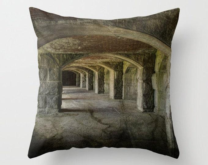 The Tunnels Photo Throw Pillow, Throw Pillow, Photo Pillow, Photography, Pillow Covers, Art Throw Pillows