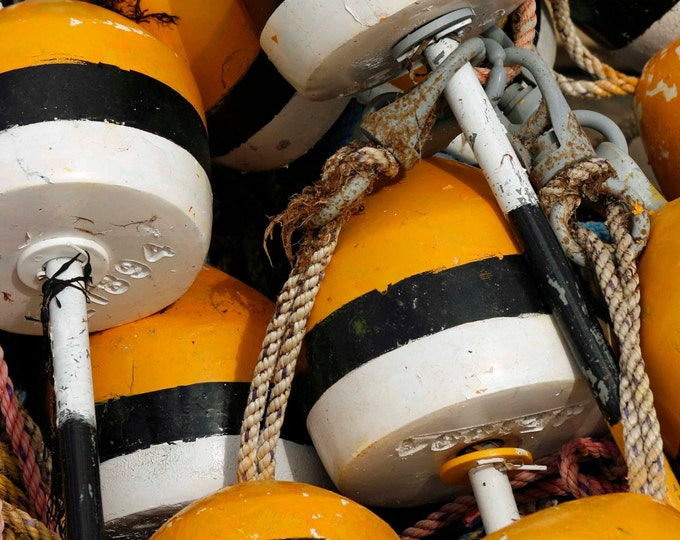 Buoys, Photography, Nautical Photography, Fishing, Still Life Photography