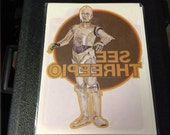 1977 Star Wars Iron-On Transfer Vintage Craft