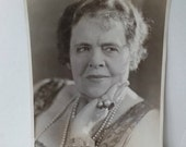 Clearance Marie Dressler, Original Photograph, Promotional Head Shot, Hollywood Actress, Queen of the Movies,