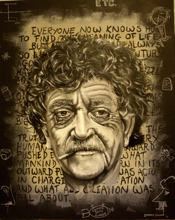 kurt vonnegut a man without a Presenting new songs, dance and hors d'oeuvres inspired by kurt vonnegut's a man without a country performances by john s hall, terry radigan, don rauf, sweet.