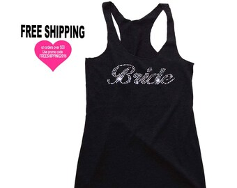 Bride Tank Top, Bride Gift, Bachelorette Party, Bridal Shower Gift, Bride To Be Gift, Bride Shirt, Engagement Gift, Wedding Giftm Yoga Tank