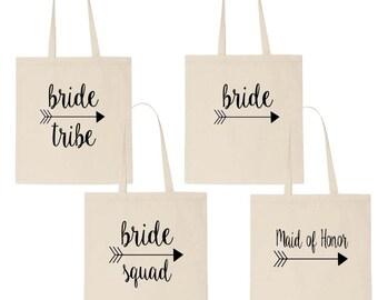 Bridesmaid Tote, Bridesmaid Gift, Canvas Tote Bag, Bridesmaid Proposal, Will You Be My Bridesmaid, Bride Tote. Maid of Honor Tote, Tote Bag