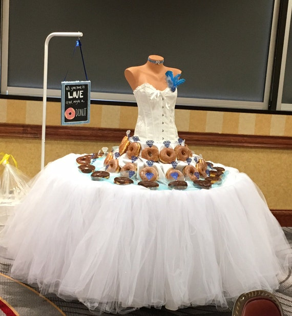 Custom tutu table skirt candy buffet skirt centerpiece head table il570xn watchthetrailerfo