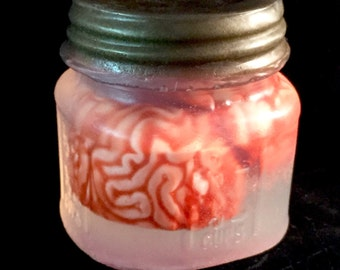 Abby Normal Brain Specimen Soap Mason Jar