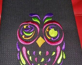 Owl Cup Towel