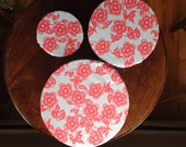 Reusable Bowl Covers Set of Three  Earth-Friendly