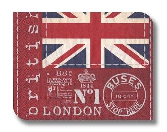 London paper napkin for decoupage and other paper crafts x 1.  London. No 1257