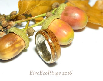 Unique Eco friendly truly unusual wedding band engagement rings