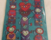 Robots Valentine Stickers by American Greetings