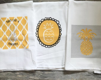 Pineapple Tea Towels