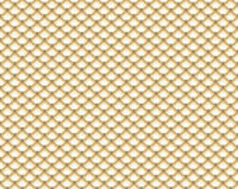 Yellow with Cream patterned fabric, Lost and found 2 by Riley Blake C3694