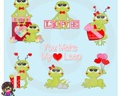 2016 Love Frogs  Clip art  Clipart  Graphics  Commercial Use