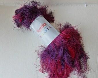 Yarn Sale  - Fuchsia and Purple 613 Loliota by Katia