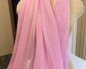 chiffon, pink chiffon, pink fabric