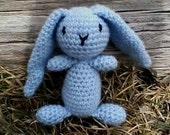 Handmade Bunny,Crochet Bunny,Blue,Gift For baby,Amigurumi,Amigurumi bunny,plush toy,crochet bunny plush toy,bunny,toy,baby,stuffed animal