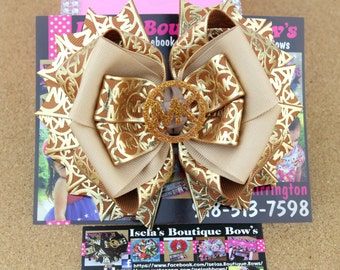 MK hair bow/boutique