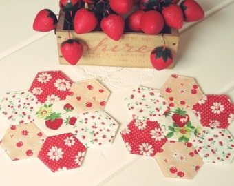 sweet hexie coasters set of 2 no. 5