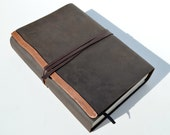 Custom Order Leather Bible Cover with Bible Reserved for Amy (375D)