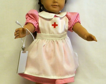 Nurse Outfit For 18 Inch Doll Like The American Girl.
