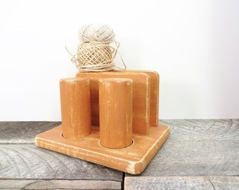 Napkin Holder Salt and Pepper - Burnt Orange - Modern Farmhouse Kitchen
