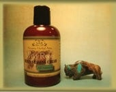 Wild Roots Men's Shaving Cream, 4 ounce, 100% Natural, Pure Essential Oils, Handcrafted