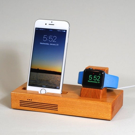 iphone apple watch docking station the tandem by. Black Bedroom Furniture Sets. Home Design Ideas