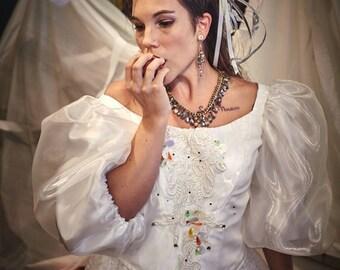 Sarah, Labyrinth Costume, Labyrinth Dress, Sarah's Dress, Sarah Cosplay