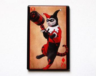 Harley Kitten Magnet
