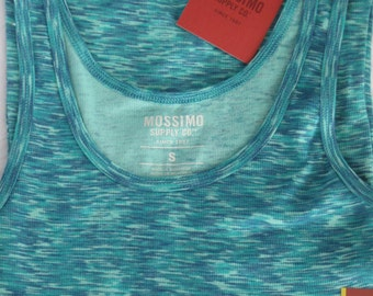 Nursing tank top-Teal Space Dye rib knit-Modest coverage-Brand new tank top-Great for the new Mother, Baby Shower Gift-breastfeeding