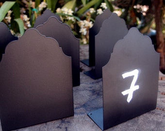 Table Number Signs; Chalkboard Signs; Table Decorations; Wedding Table Numbers; Buffet Labels; Buffet Signs