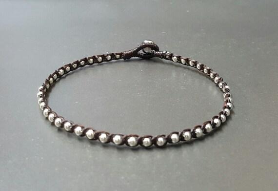Single  Silver  Anklet