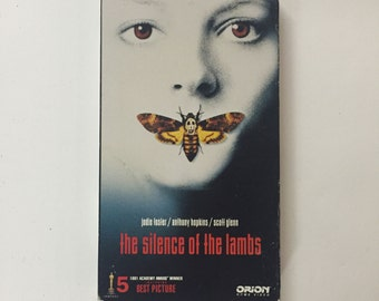The Silence of the Lambs (VHS, 1991) Jodie Foster, Anthony Hopkins
