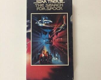 Star Trek III - The Search for Spock [VHS]  William Shatner, Leonard Nimoy